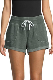 Betsey Johnson Distressed Wash Roll Hem Short - Product Mini Image