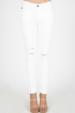 Shoptiques Product: Distressed White Denim