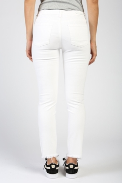 Articles of Society Distressed White Skinny - Alternate List Image