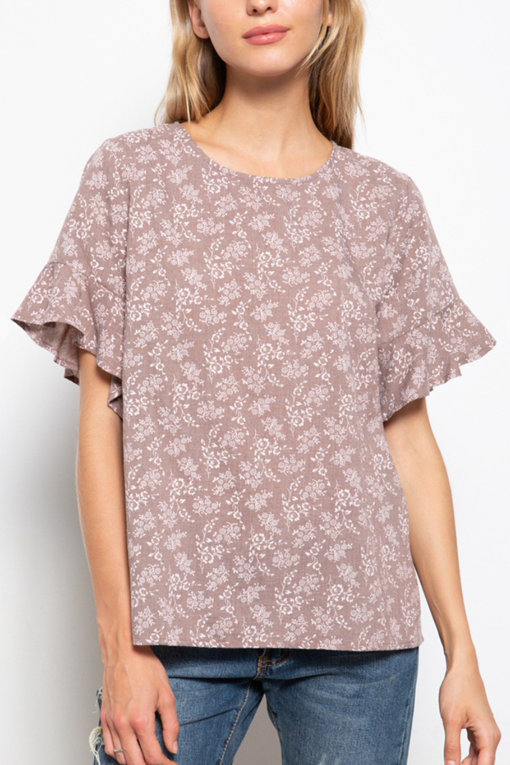 Mittoshop Ditsy Floral Blouse - Main Image