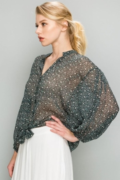 AAKAA Ditsy Floral Blouse - Product List Image