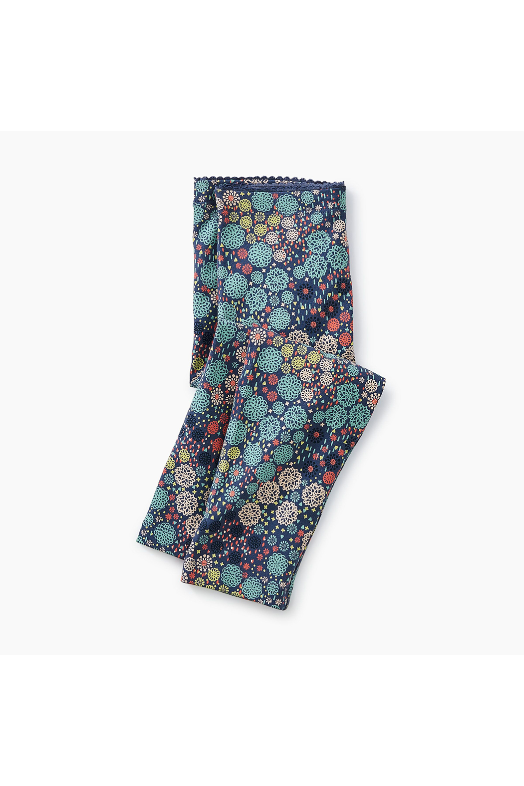 Tea Collection Ditsy Floral Legging - Front Full Image