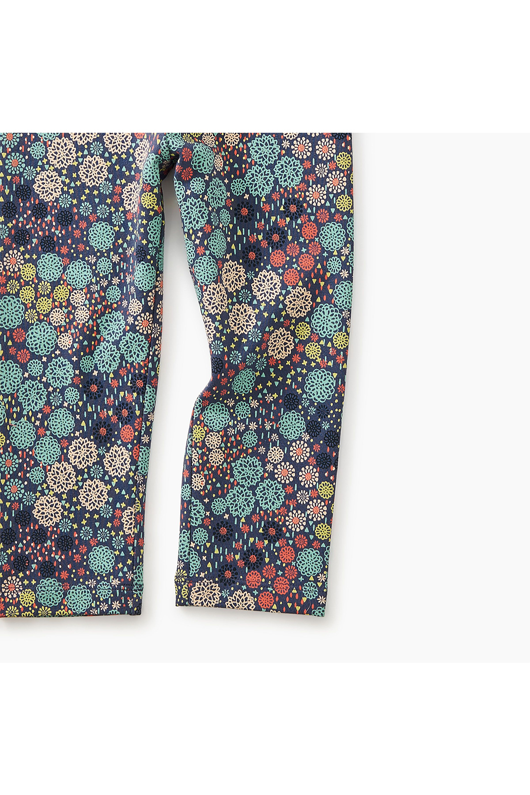 Tea Collection Ditsy Floral Legging - Side Cropped Image