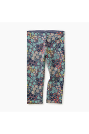 Tea Collection Ditsy Floral Legging - Front cropped