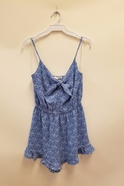 Timing Ditsy Floral Romper - Product Mini Image