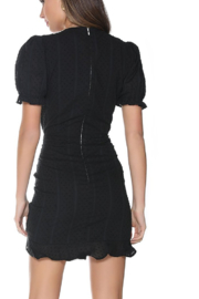 Runaway The Label Ditsy Mini Dress - Side cropped