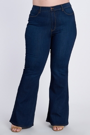Vibrant MIU Divas Lauren Wide Leg Jeans (Plus Size) - Product Mini Image
