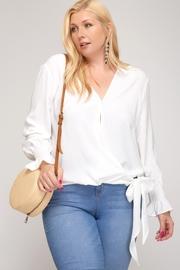 She and Sky Divas Leah Top - Front cropped