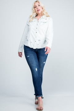 Shoptiques Product: Divas Lola Denim Shirt