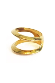 Malia Jewelry Divided Goldplated Ring - Product Mini Image