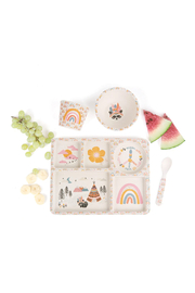 Love Mae Divided Plate Set - Gypsy Girl - Product Mini Image