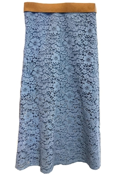 Dixie Blue Lace Skirt - Alternate List Image
