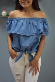 RD Style Dixie Denim Top - Product Mini Image