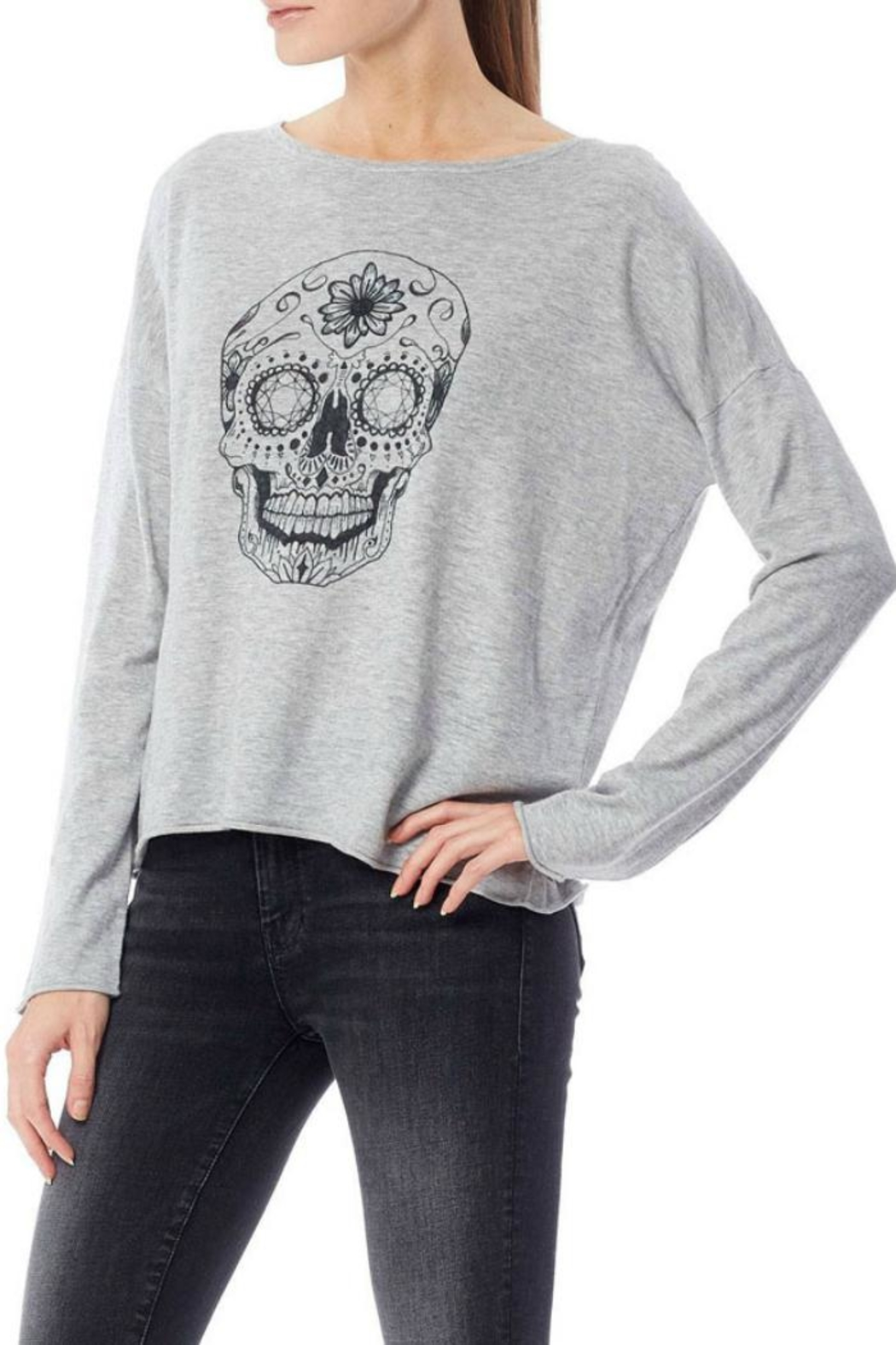 360 Cashmere Dixie Sweater - Side Cropped Image