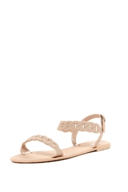 Dizzy Locks Rubber Sandals - Front cropped