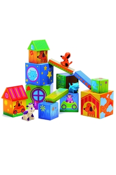 Shoptiques Product: Animal Stacking Toy