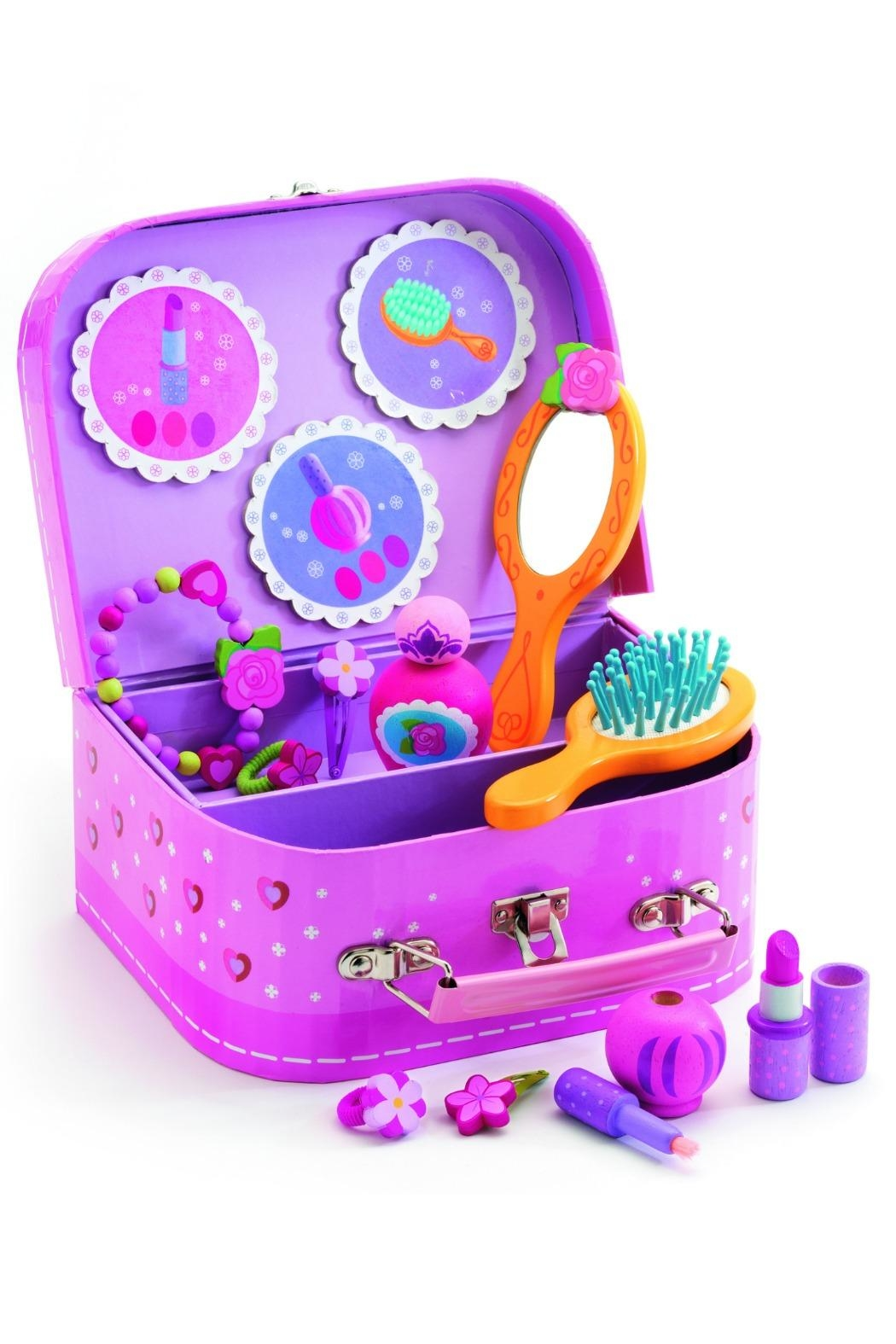 Djeco Childs Vanity Case Set - Front Full Image