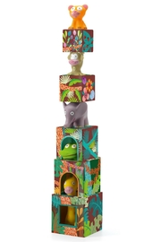 Djeco Jungle Stacking Toy - Product Mini Image