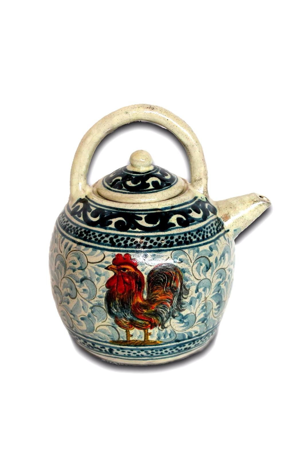 Djuna Ceramic Tea Pot - Front Cropped Image