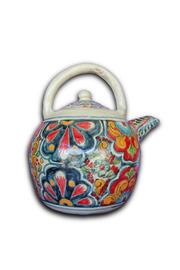 Djuna Ceramic Tea Pot - Front cropped