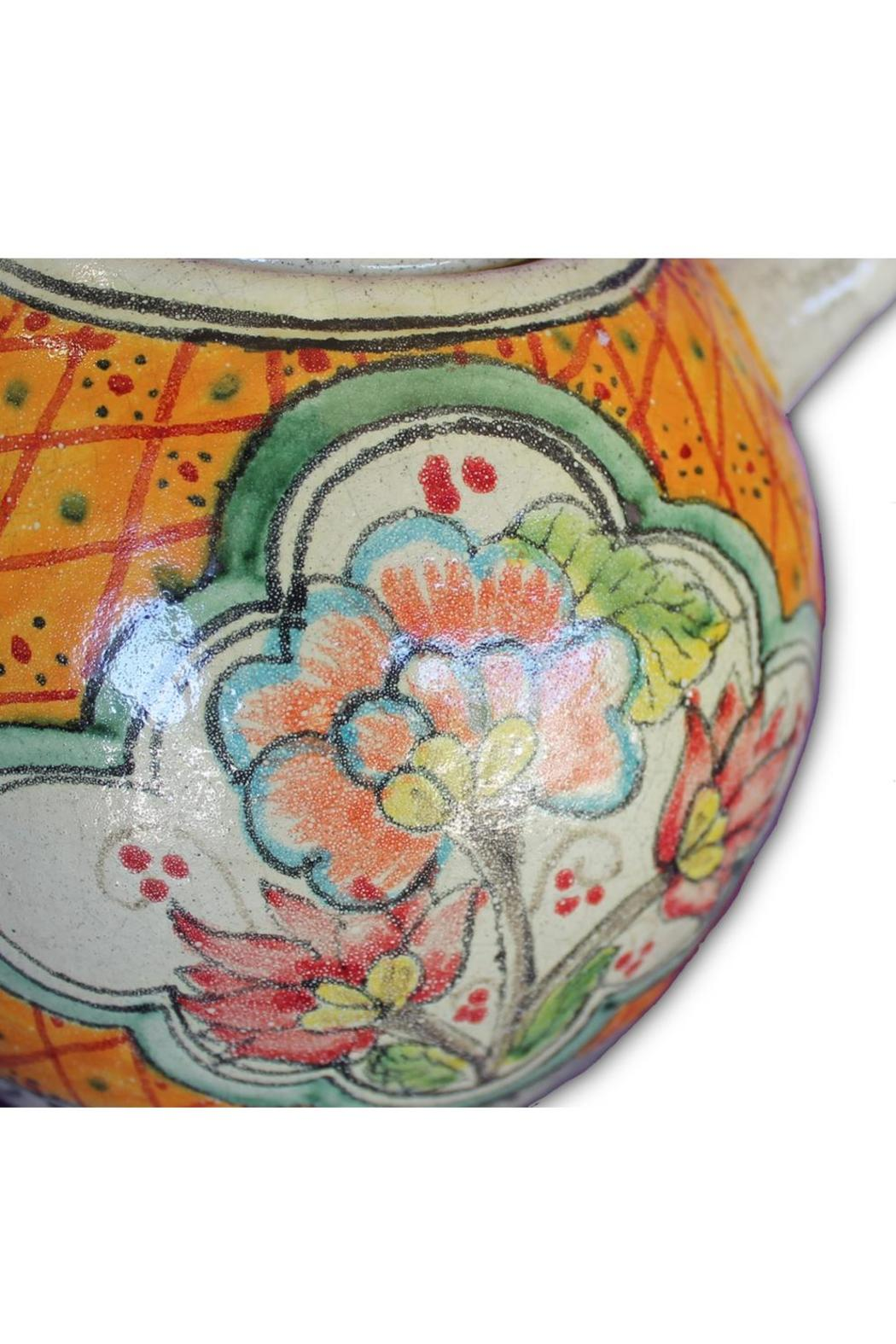 Djuna Ceramic Tea Pot - Front Full Image