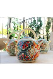 Djuna Ceramic Tea Pot - Side cropped