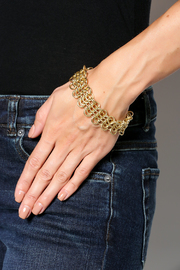 Shoptiques Product: Chain Maille Bracelet - Back cropped
