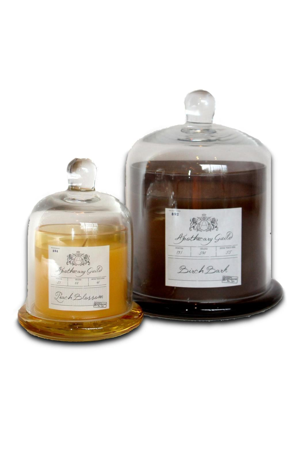 Djuna Cognac Candle - Medium - Side Cropped Image