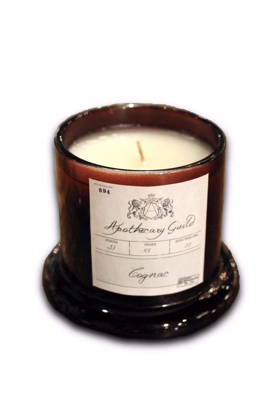Djuna Cognac Candle - Medium - Front Full Image