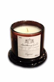 Djuna Cognac Candle - Medium - Front full body