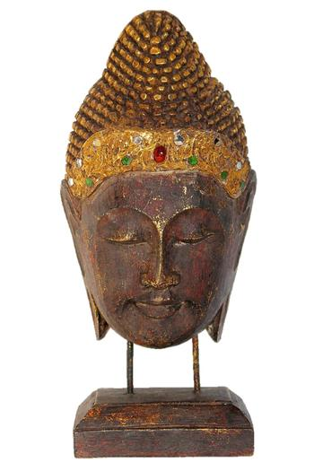 Shoptiques Product: Decorative Buddha Head - main