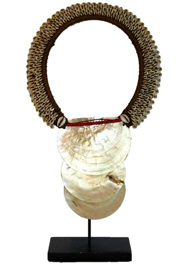 Shoptiques Product: Decorative Shell Necklace - main