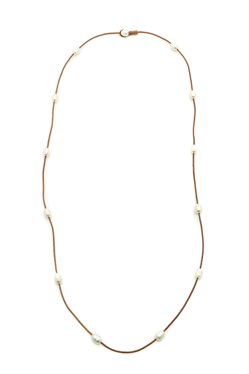 Djuna Pearl Necklace - Front Cropped Image