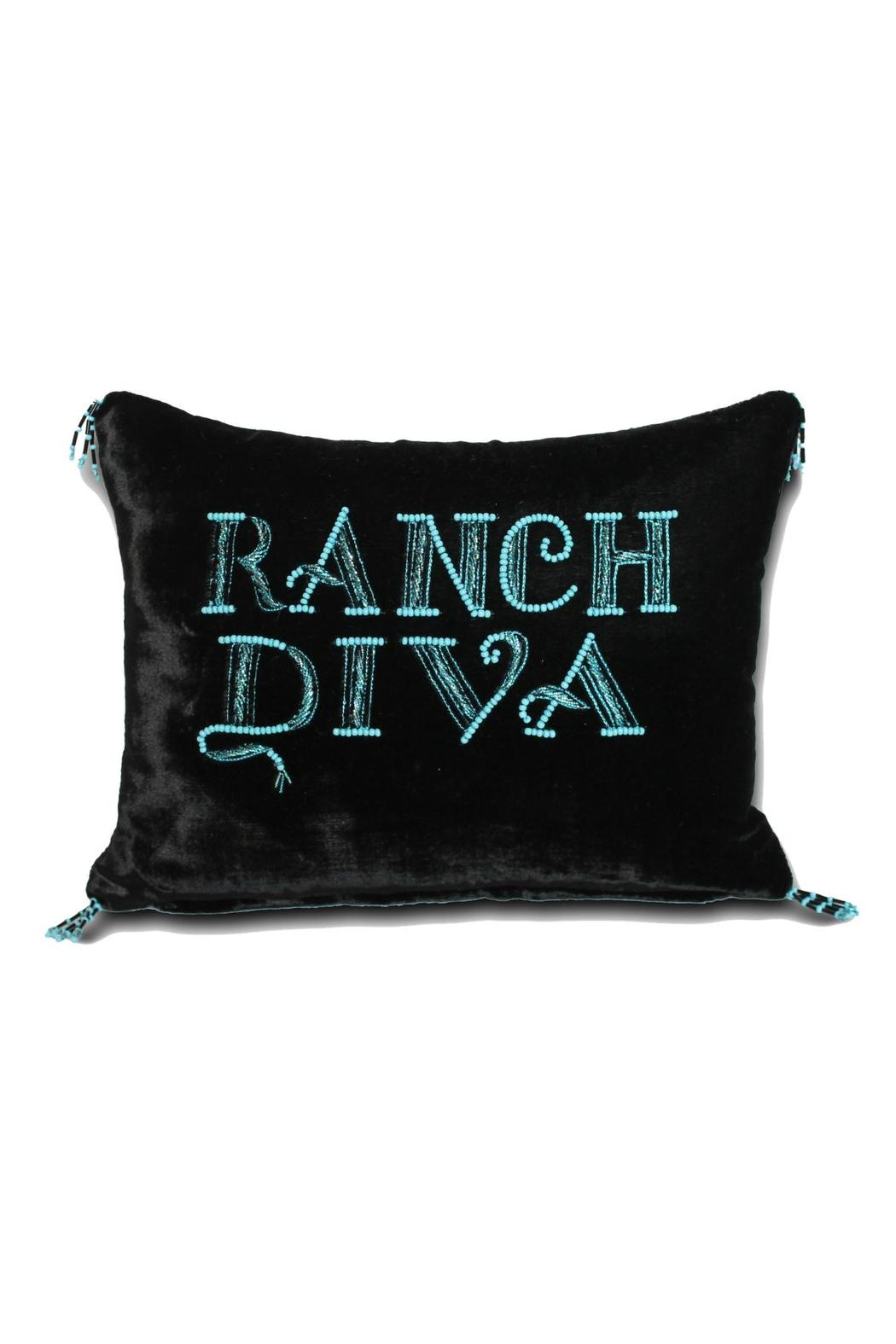Djuna Ranch Diva Pillow - Front Cropped Image