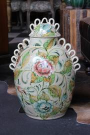 Shoptiques Product: S.A. Ceramic Jar - Front full body