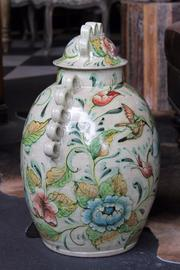 Shoptiques Product: S.A. Ceramic Jar - Side cropped