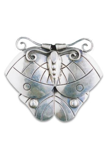 Shoptiques Product: Butterfly Brooch - main
