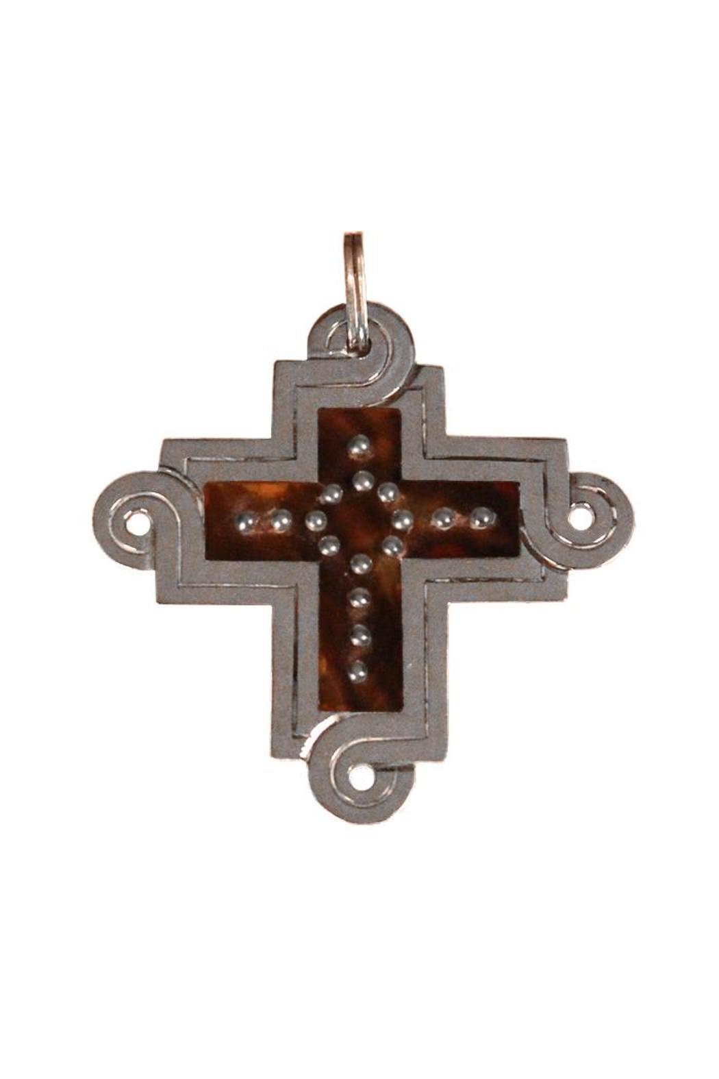 Spratling Silver Cross Pendant