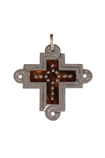 Shoptiques Product: Spratling Silver Cross Pendant - main