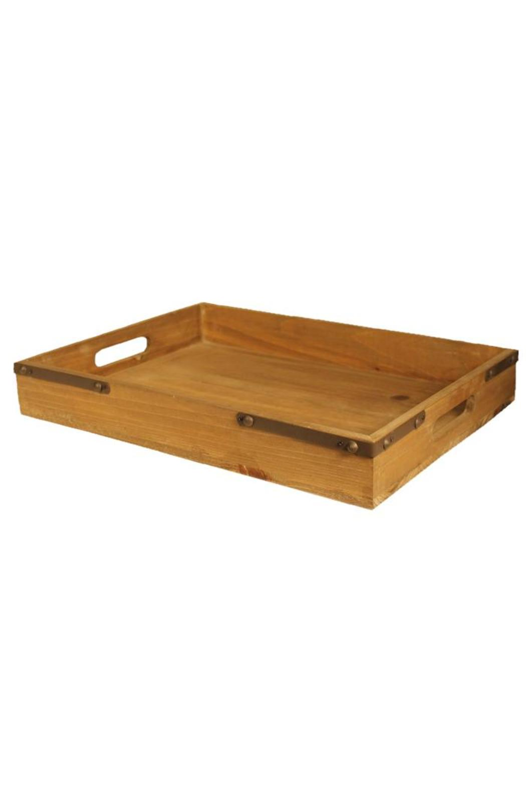 Djuna Wooden Tray Medium - Side Cropped Image