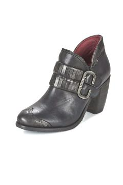 Shoptiques Product: Black Buckle Bootie