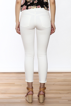 Shoptiques Product: Florency Cropped White Jean