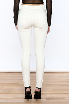 DL 1961 White Skinny Jeans - Alternate List Image