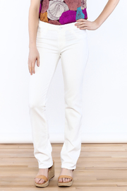 DL 1961 Mara Straight Leg Jean Milk - Product Mini Image