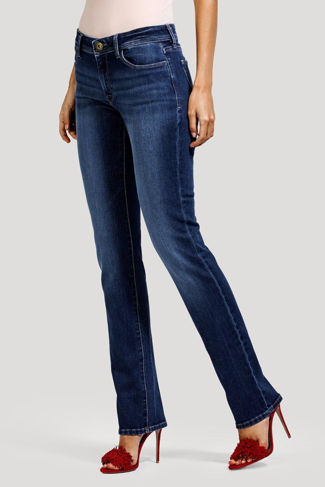 DL1961 Curvy Coco Pacific Jeans - Side Cropped Image