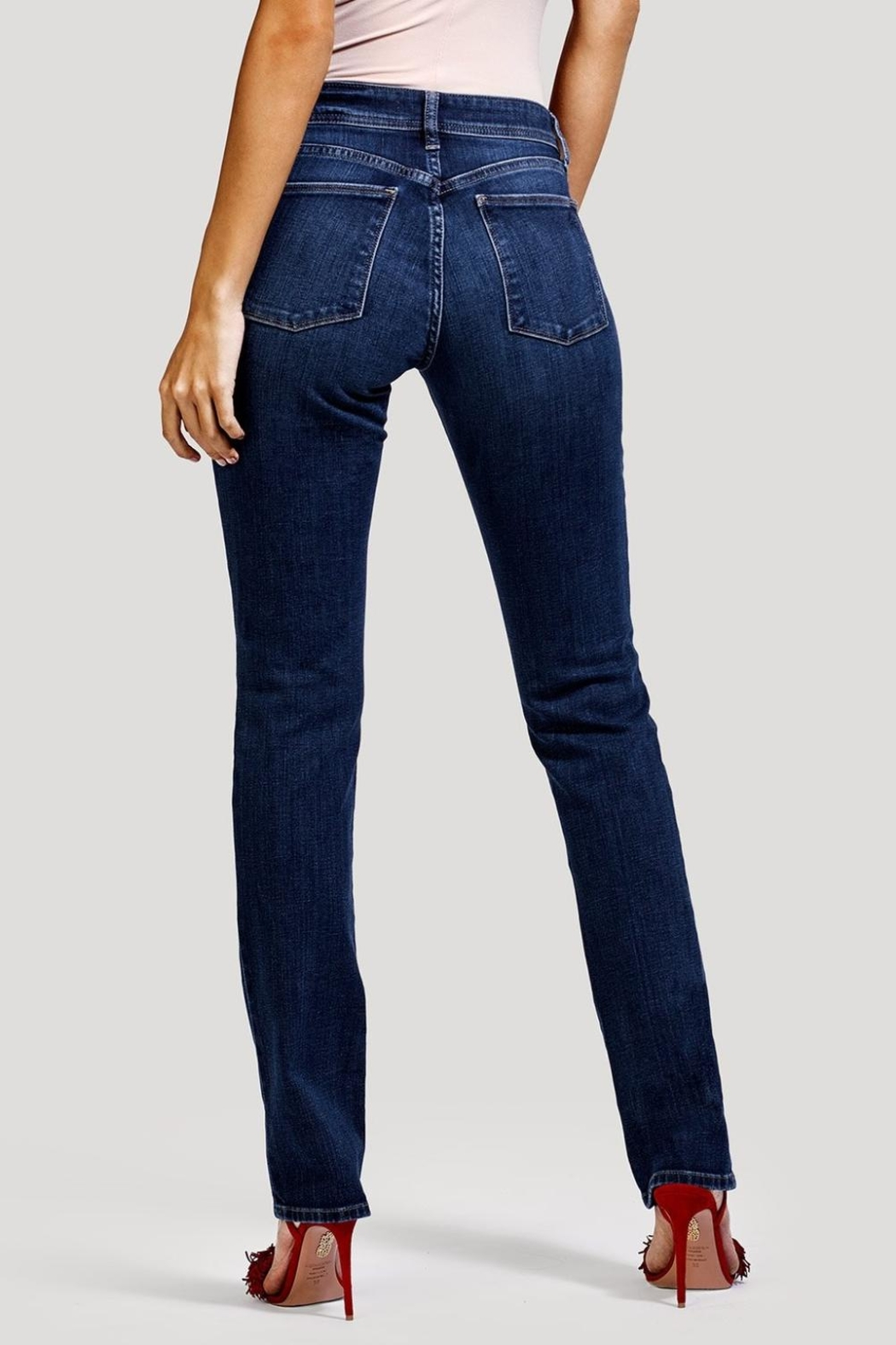 DL1961 Curvy Coco Pacific Jeans - Back Cropped Image