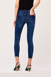 DL1961 Destructed Knee Skinny Jeans - Front full body