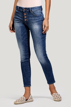 DL1961 Exposed Button Ankle Skinny - Product List Image