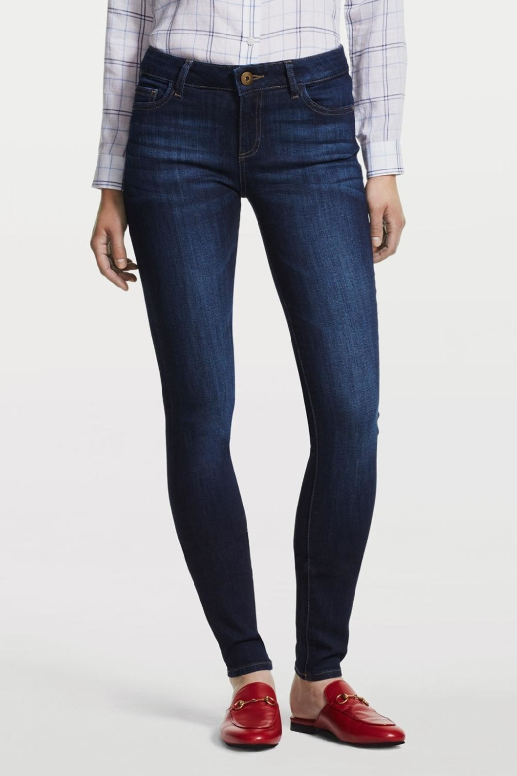 32b124b88e19 DL1961 Dark Wash Skinny Jeans from North Shore by Assets Jean Co ...