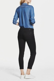 DL1961 Florence Black Cropped Skinny - Front full body